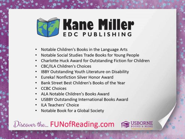 List of Awards Earned by Kane Miller - EDC Publishing