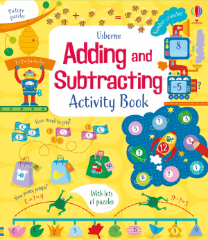 Usborne Adding and Subtracting Activity Book