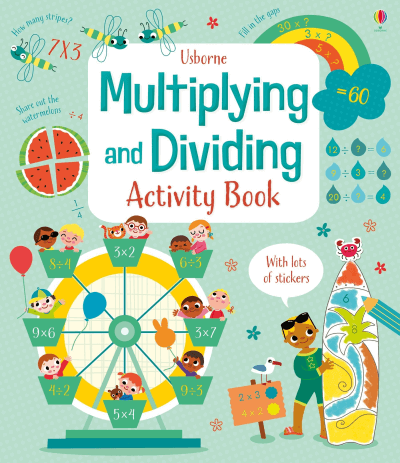 Usborne Multiplying and Dividing Activity Book
