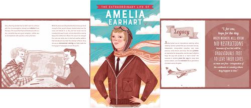 Extraordinary Lives Emelia Earhart by Kane Miller - Usborne Books & More